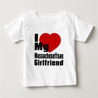 I Love My Massachusettsan Girlfriend T-shirts