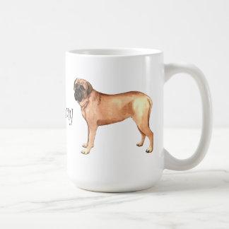 I Love my Mastiff Classic White Coffee Mug