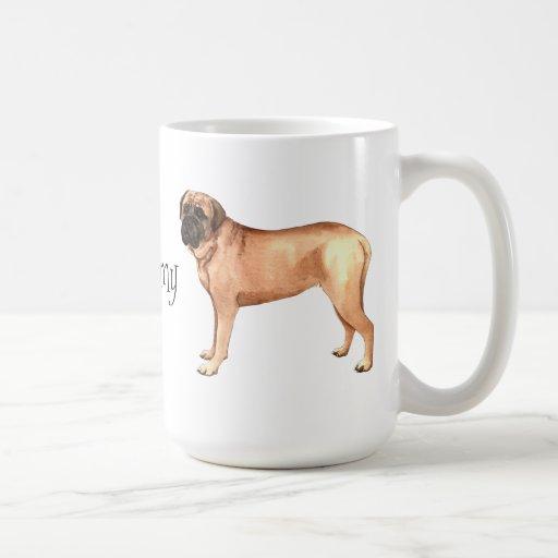 I Love my Mastiff Mug