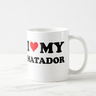 I Love My Matador Classic White Coffee Mug