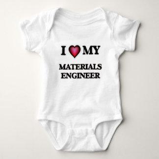 I love my Materials Engineer Baby Bodysuit