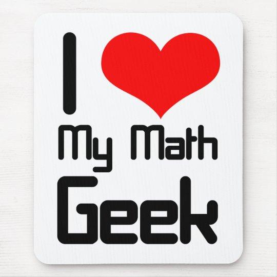 I love my math geek mouse pad