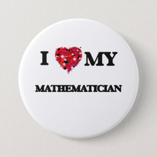 I love my Mathematician Button