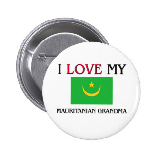 I Love My Mauritanian Grandma Pin
