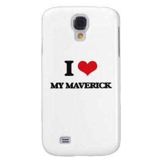 I Love My Maverick Samsung Galaxy S4 Covers