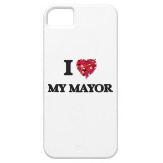 I Love My Mayor iPhone 5 Covers