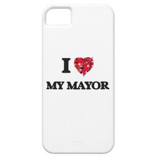I Love My Mayor iPhone 5 Cover