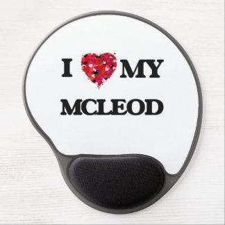I Love MY Mcleod Gel Mouse Pad