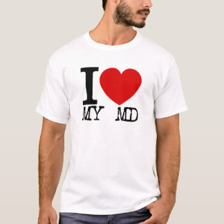 I Love My MD (Black) T-Shirt