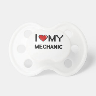 I love my Mechanic BooginHead Pacifier