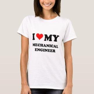 I Love My Mechanical Engineer T-Shirt