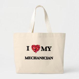 I love my Mechanician Jumbo Tote Bag