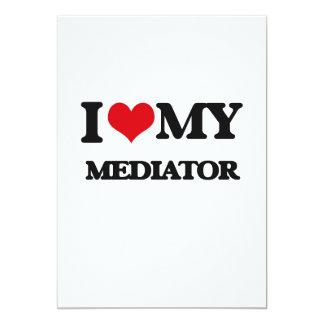 "I love my Mediator 5"" X 7"" Invitation Card"