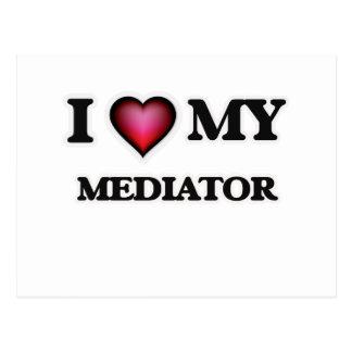 I love my Mediator Postcard