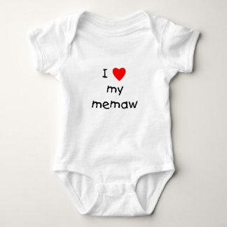 I love my memaw baby bodysuit