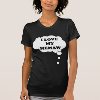 I LOVE MY MEMAW BELLYTALK MATERNITY T-Shirt
