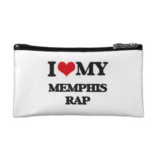 I Love My MEMPHIS RAP Cosmetic Bags