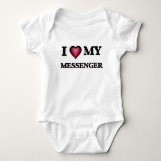 I love my Messenger Baby Bodysuit