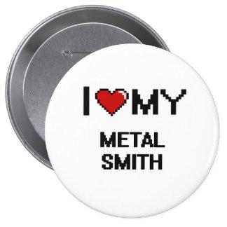 I love my Metal Smith 4 Inch Round Button