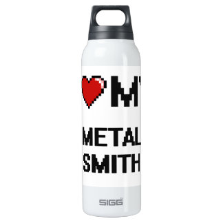 I love my Metal Smith 16 Oz Insulated SIGG Thermos Water Bottle