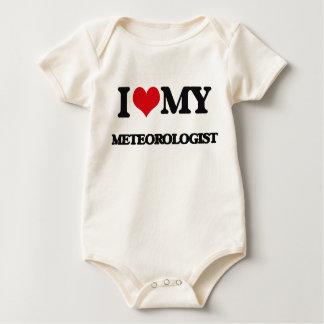 I love my Meteorologist Baby Bodysuit