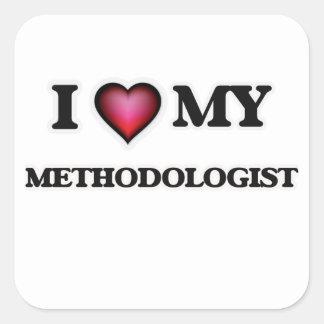 I love my Methodologist Square Sticker