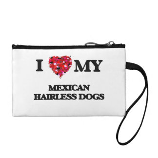 I love my Mexican Hairless Dog Coin Wallets
