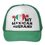 I Love My Mexican Husband Trucker Hat