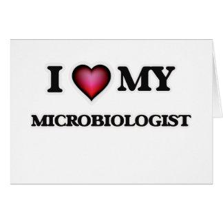 I love my Microbiologist Card