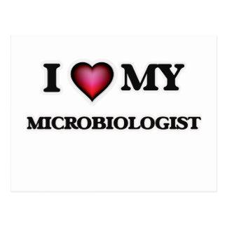 I love my Microbiologist Postcard