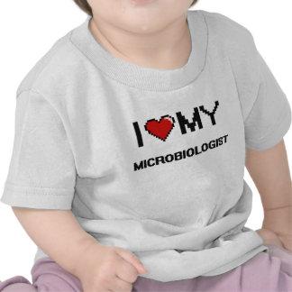 I love my Microbiologist Shirts
