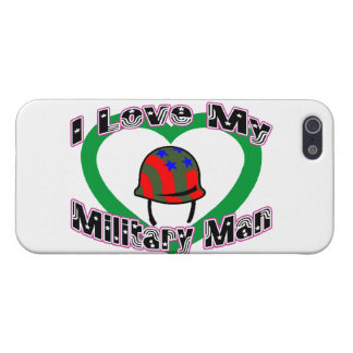 I Love My Military Man iPhone SE/5/5s Cover