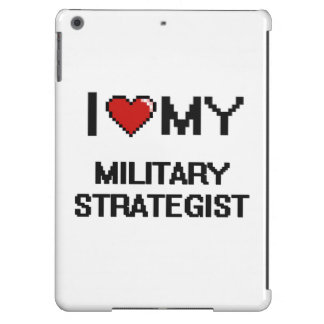 I love my Military Strategist Cover For iPad Air