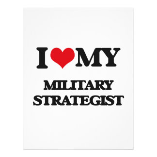 I love my Military Strategist Flyers