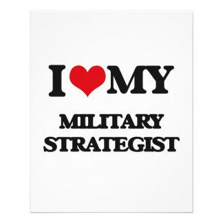 I love my Military Strategist Full Color Flyer