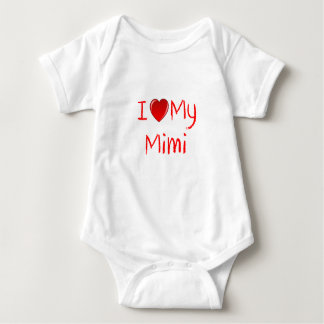 I Love My Mimi Infant & Toddler T-Shirt