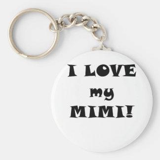 I Love my Mimi Keychain