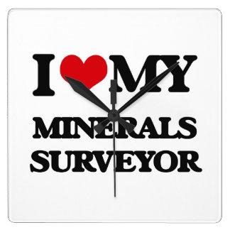 I love my Minerals Surveyor Clock