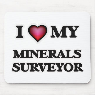 I love my Minerals Surveyor Mouse Pad