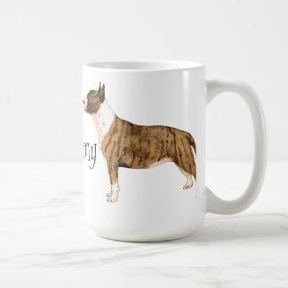 I Love my Mini Bull Terrier Coffee Mug