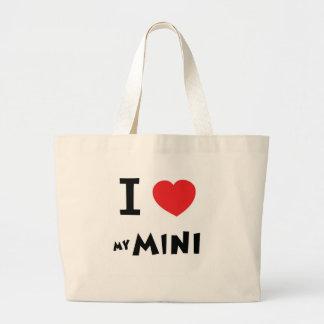 I love my mini canvas bag