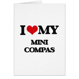 I Love My MINI COMPAS Card