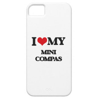 I Love My MINI COMPAS iPhone 5/5S Covers