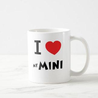 I love my mini classic white coffee mug