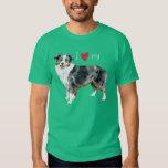 I Love my Miniature American Shepherd T-shirt