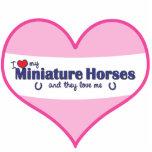 I Love My Miniature Horses (Multiple Horses) Photo Cutout