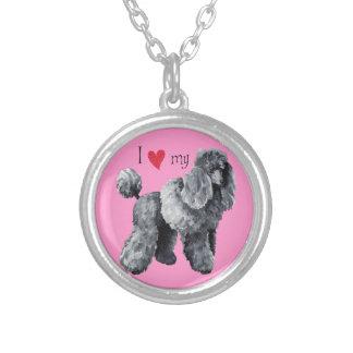 I Love my Miniature Poodle Necklaces