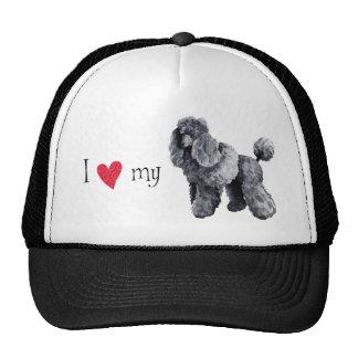 I Love my Miniature Poodle Trucker Hat