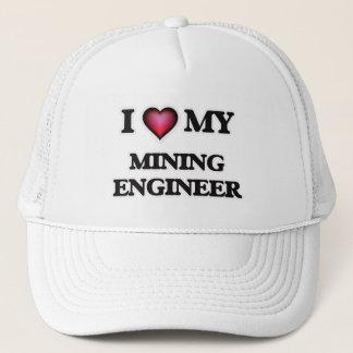 I love my Mining Engineer Trucker Hat