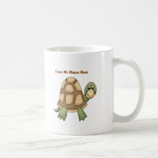 I Love My Mobile Home Turtle Coffee Mug